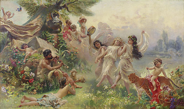 Happy_Arcadia_by_Konstantin_Makovsky